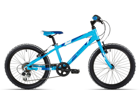 "Cuda Mayhem 20"" Boys Bicycle 7-9 Yrs Aluminium Blue"