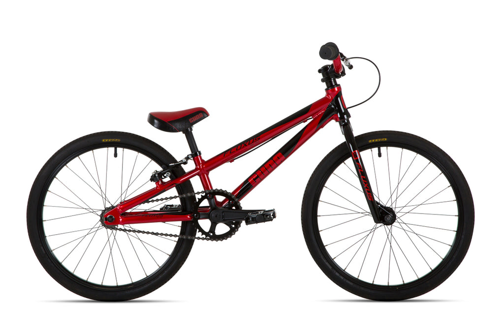 "Cuda 18"" Fluxus Micro Mini Race BMX Unisex Red/Black"