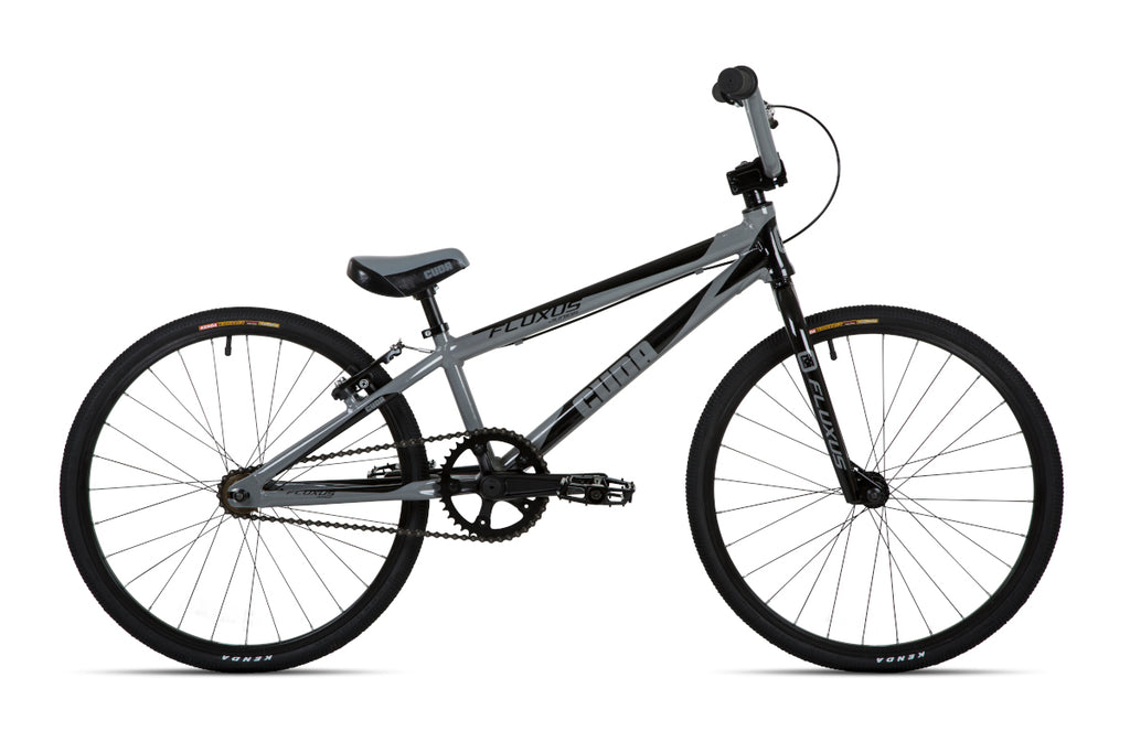 "Cuda 20"" Fluxus Junior Race BMX Unisex Grey/Black"