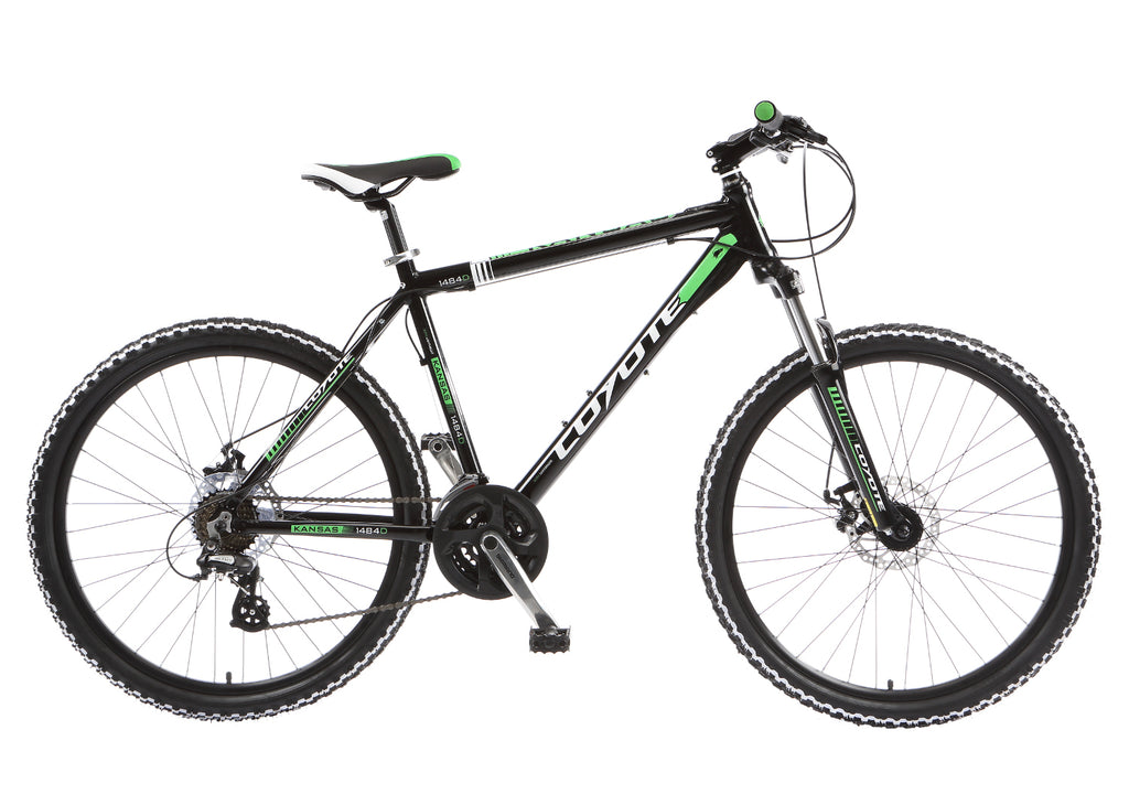 "Coyote Kansas Gents 21sp 26"" Wheel Mountain Bike"