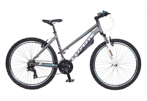 "B Grade 2017 Coyote Choctaw Hardtail Ladies 26"" Wheel Mountain Bike 15"""