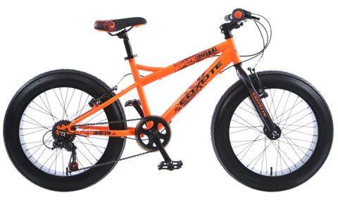 "B Grade Coyote Ghetto Fat Bike 20"" x 3"" Neon Orange"