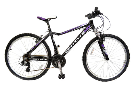 "2017 Coyote Chicago 17"" Hardtail Ladies 26"" Wheel Mountain Bike"