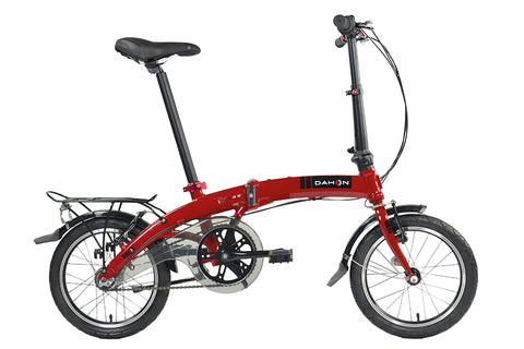 "2017 Dahon Curve i3 16"" Wheel Three Speed Folding Bike 12.4kg"