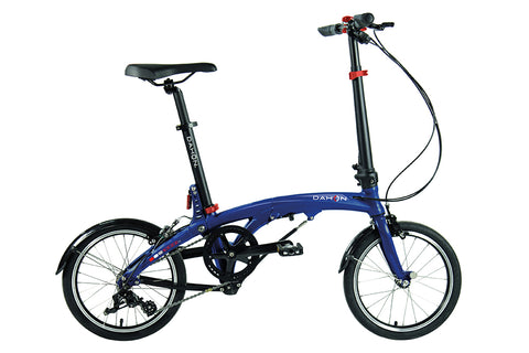 2017 Dahon EEZZ Folding Bike D3 Speed Blue 9.7 Kg