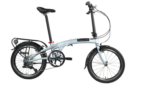"B Grade 2018 Dahon QIX D8U 20"" Wheel Folding Bike 8 Speed"
