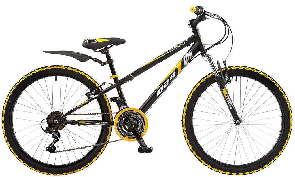 "De Novo D-24 Boys 24"" Wheel FS Mountain Bike"