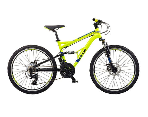 "B Grade De Novo Plus 24 ATB DS Boys 24"" Wheel 21spd Yellow/Black"