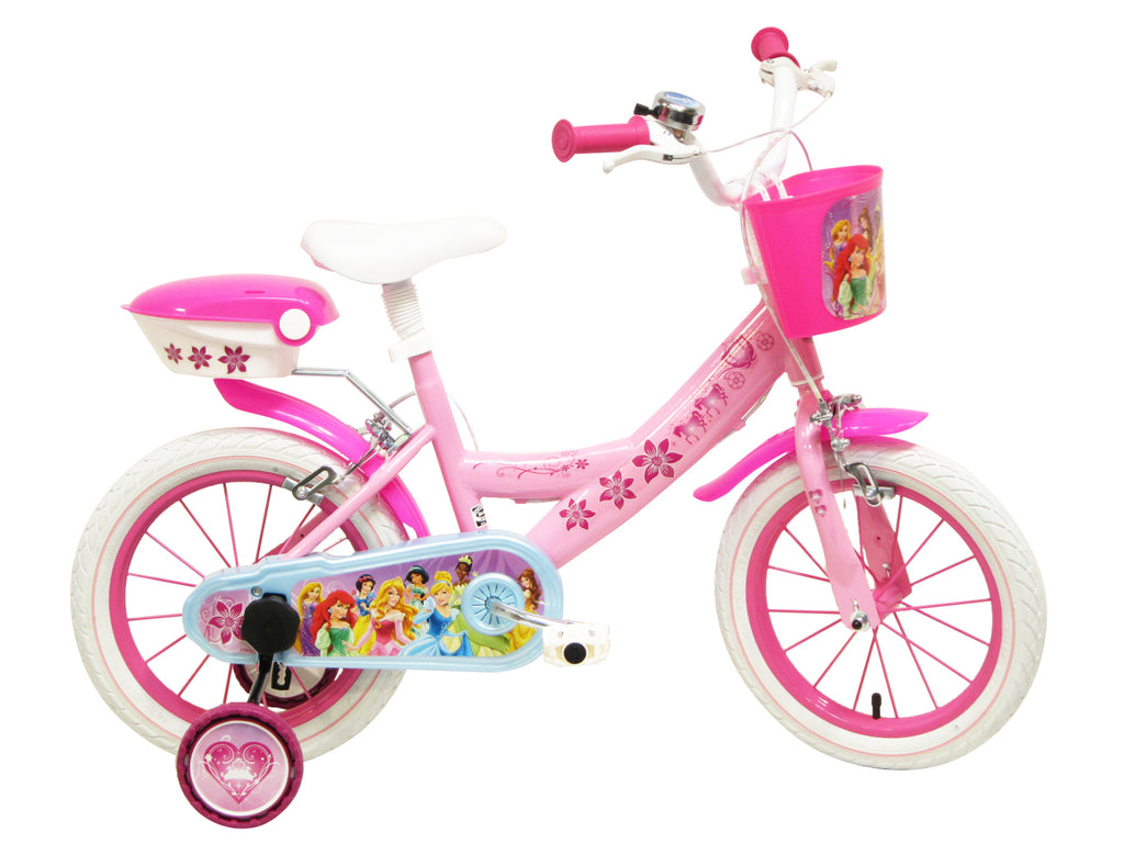 "Disney Princess 14"" Girls Bike suit 4-6yrs"