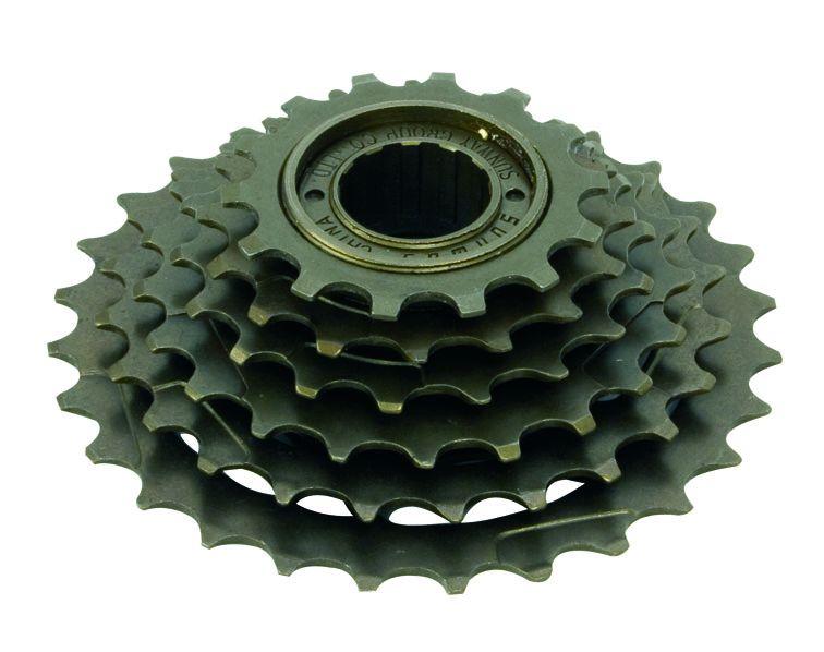 ETC 6 Speed Freewheel Brown 14-24T