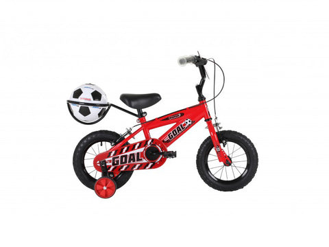 "Bumper Goal 12"" Red Boys Mountain Bike 3 to 5 years"