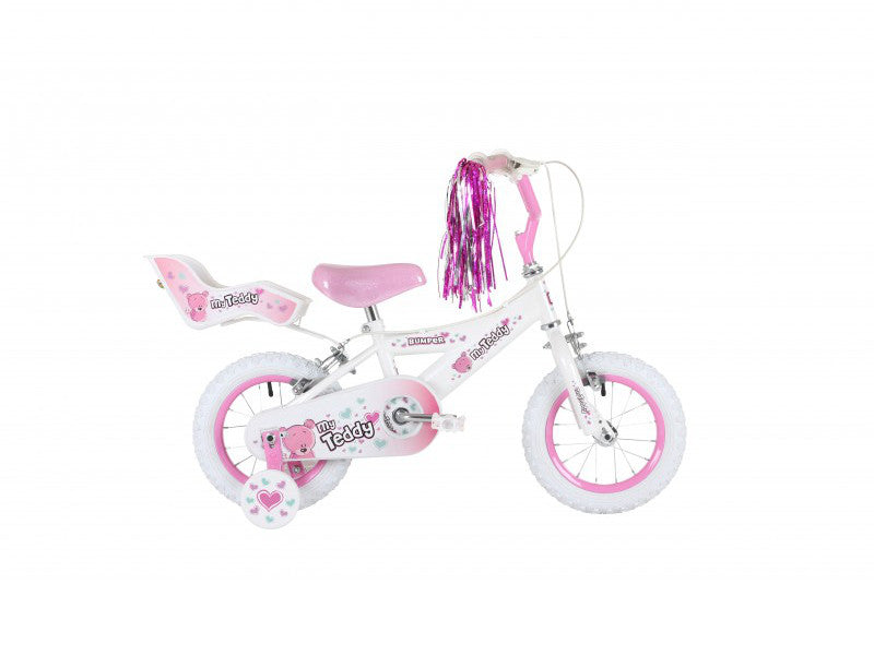 "Bumper My Teddy 12"" Girls Mountain Bike 3 to 5 years"