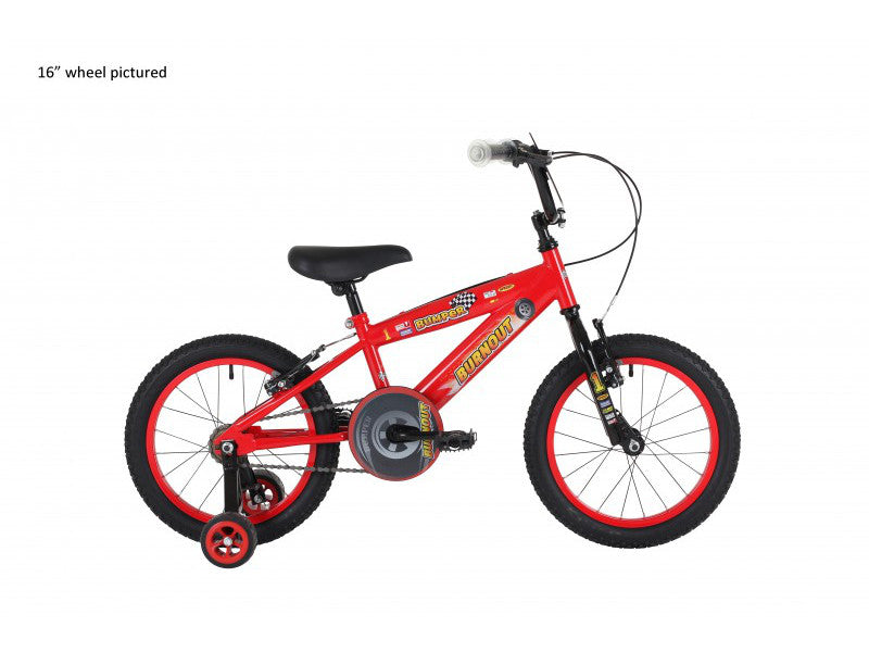 "Bumper Burnout Boys 14"" Mountain Bike 4 to 6 years"