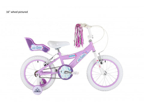 "Bumper Ice Queen 14"" Girls Mountain Bike 4 to 6 years"