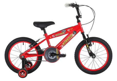 "Bumper Burnout Boys 18"" Mountain Bike 6 to 8 years"