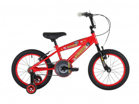 "B Grade Bumper Burnout Boys 16"" Mountain Bike 5 to 7 years RRP £130.00"