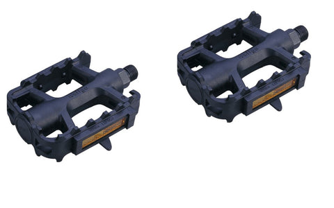 "ETC 9/16"" Black Resin MTB Pedals by Welgo"