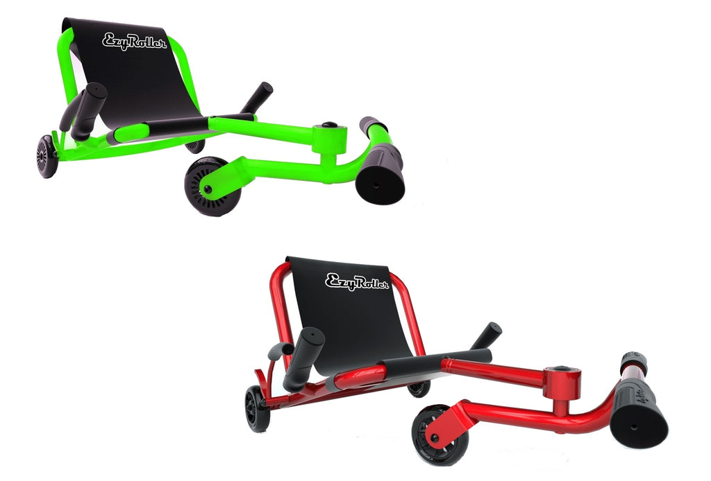 Ezy Roller Classic No-Pedal Snake Kart Neon