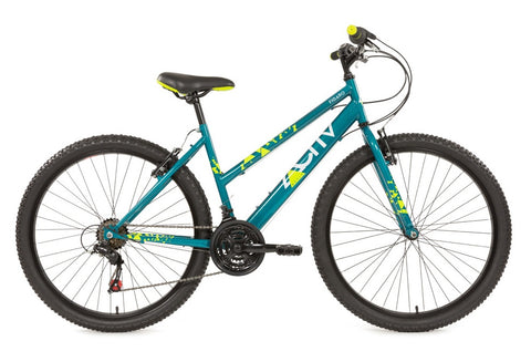 2017 Activ Figaro Ladies Shimano 18 Speed Mountain Bike Turquoise