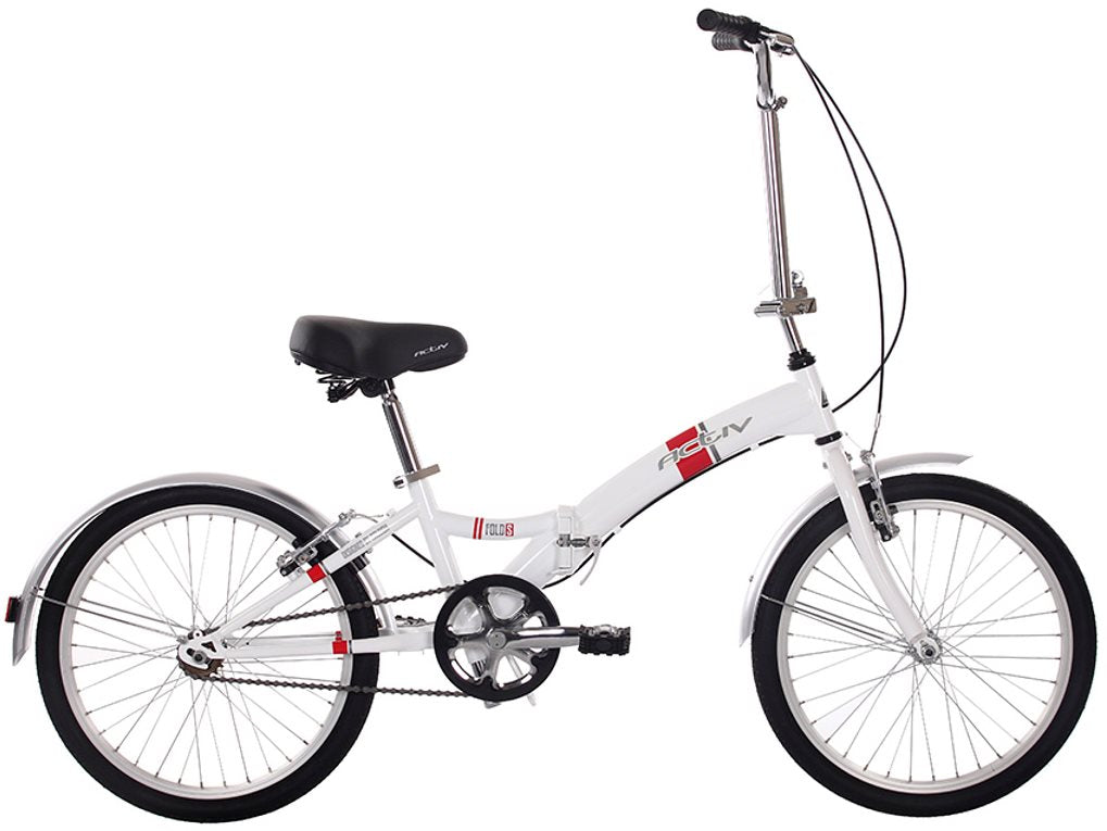Raleigh Activ Fold S Folding Bike Single Speed Shopping Bike