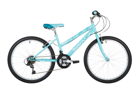 "Freespirit Trouble 24"" Girls Mountain Bike Turquoise"