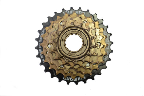 Shimano 14-28 Six Speed Screw On Freewheel MF-TZ20