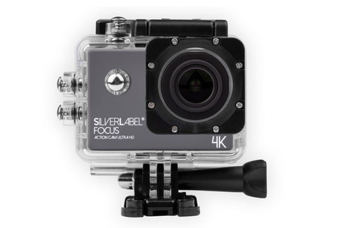 SilverLabel Focus Action Camera Ultra HD 4K
