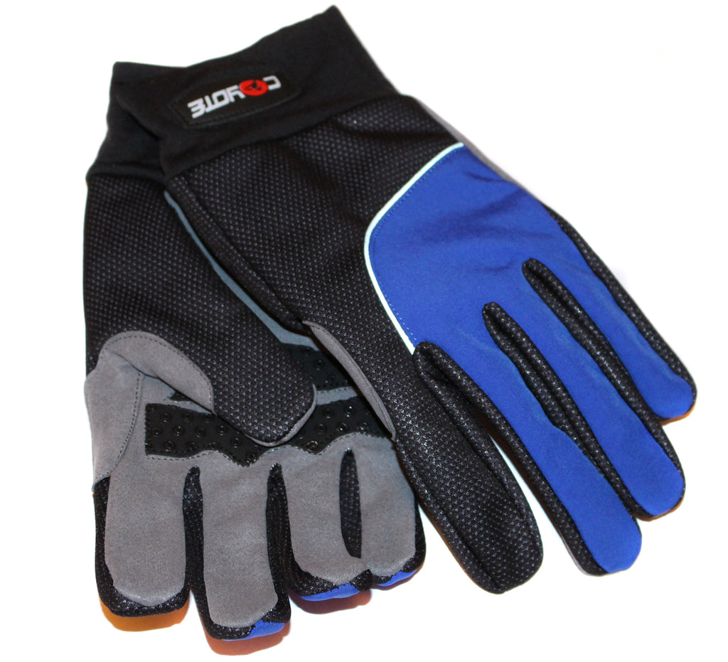 Coyote Urban Winter Cycling Gloves Black/Blue