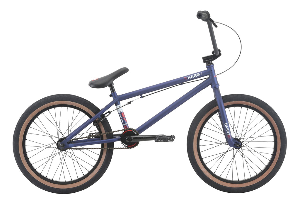 "2018 Haro Boulevard 20"" Wheel BMX Bike Matte Blue 20.5""TT"