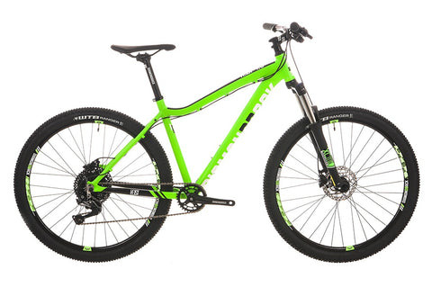 "2018 Diamondback Heist 1.0 Hard Tail 27.5"" Wheel Mountain Bike Green"