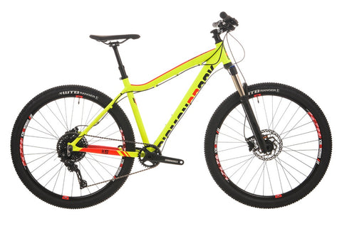 "2018 Diamondback Heist 2.0 Hard Tail 27.5"" Wheel Mountain Bike Yellow"