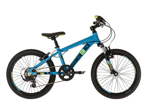 "2018 Diamondback Hyrax HT B 20"" Wheel 11"" Frame Mountain Bike Blue"