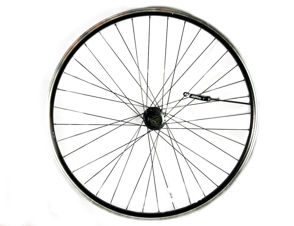 700c 26mm Cassette 8/9 Speed Rear Black Bicycle Wheel with QR