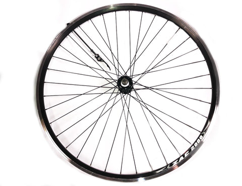 700c 26mm Rear Black Bicycle Wheel
