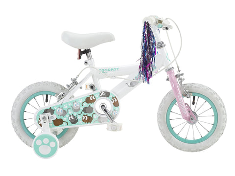 "Insync Kitten 12"" Wheel Girls Bicycle"
