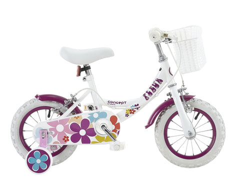 "Insync Fleur 12"" Wheel Girls Bicycle"