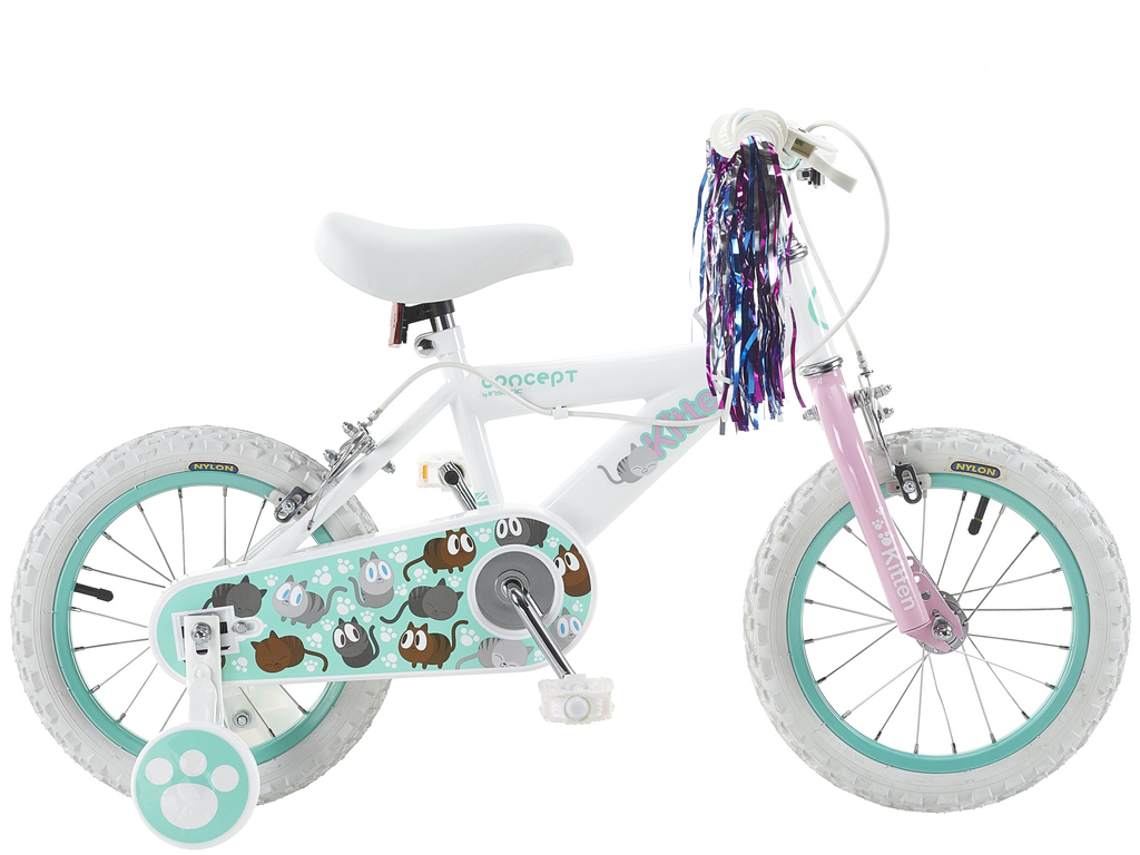 "Insync Kitten 14"" Wheel Little Girls Mountain Bike"
