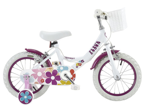 "Insync Fleur 14"" Wheel Girls Bicycle"