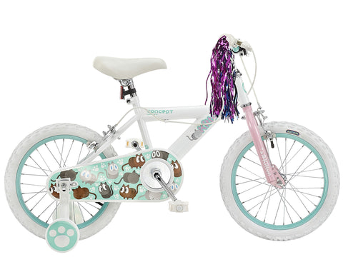 "Insync Kitten 16"" Wheel Girls Bicycle"