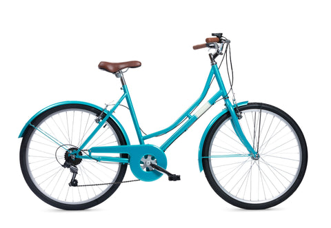 "B Grade Insync Florence 19"" Ladies Classic Bike Blue"