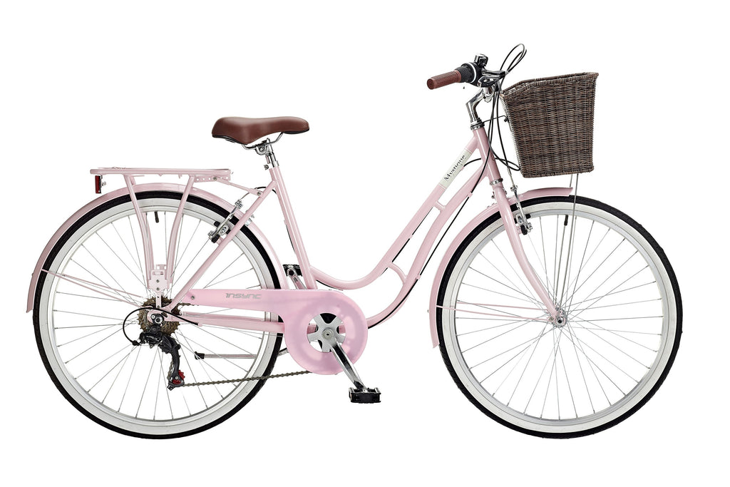 "Insync Mystique 18"" Ladies 26"" Wheel 6 Speed Traditional Bike"