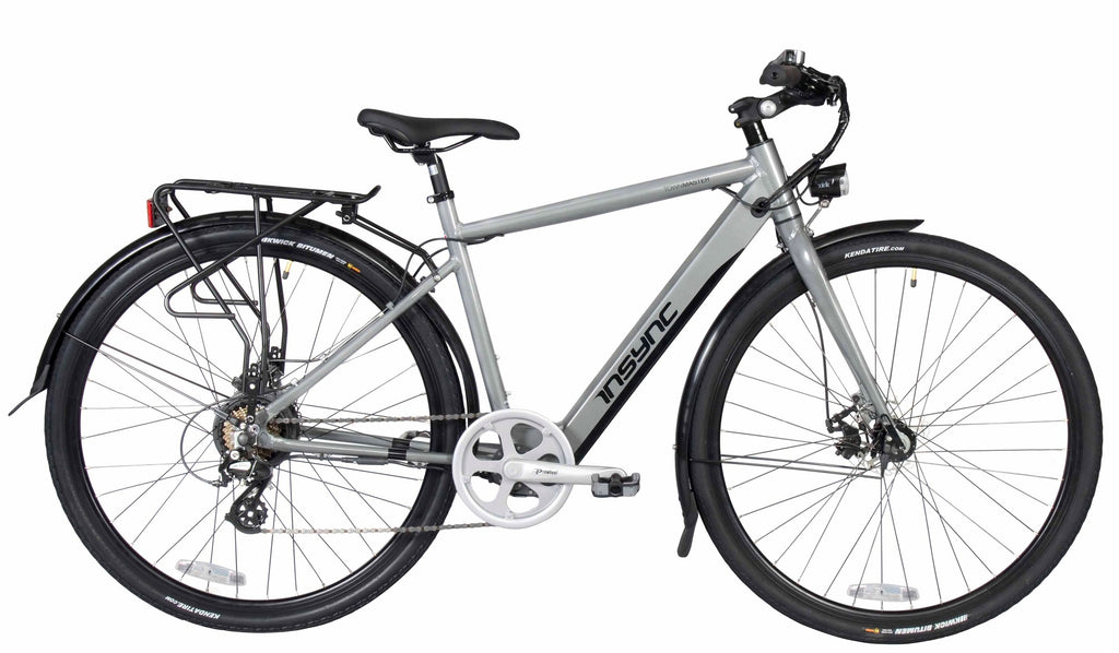 Insync Townmaster Gents eBike 36V 250W Aluminium Electric Bike Grey