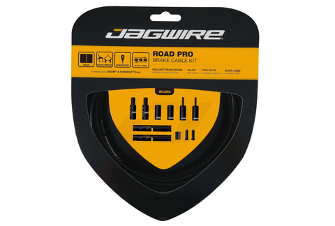 Jagwire Pro Road Brake Cable Kit Black
