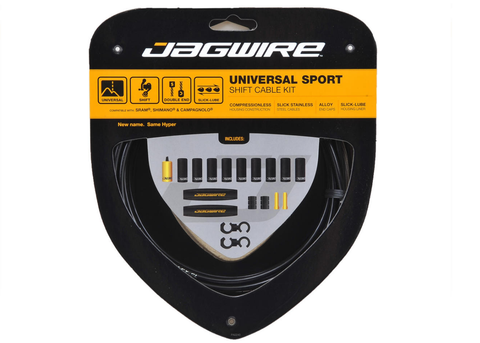 Jagwire Universal Sport Shift Cable Kit Black