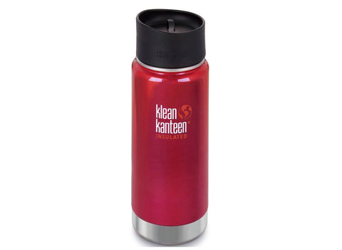 B Grade Klean Kanteen 473ml Wide Insulated Drinks Bottle (w Cafe Cap) Roasted Pepper