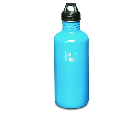 B Grade Klean Kanteen 1182ml Classic Water Bottle Channel Island (w/Loop Cap)