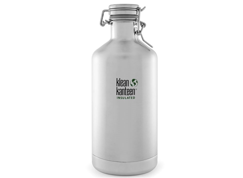 B Grade Klean Kanteen Growler Vacuum Insulated 946ml Water Bottle Brushed Steel