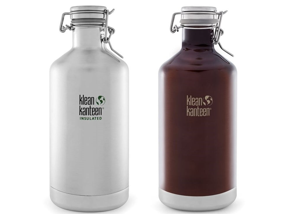 Klean Kanteen Growler Vacuum Insulated 1900ml Water Bottle