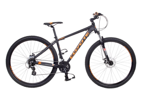 "B Grade Coyote Kusan Gents 29er 17"" 29"" Wheel 24 Speed Mountain Bike"