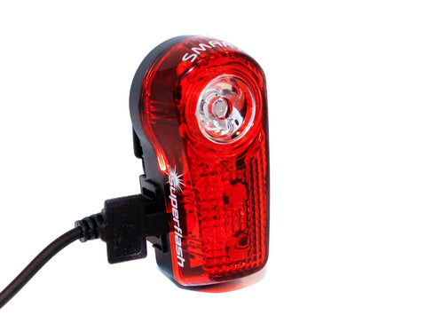 Smart L317R USB Rechargeable Rear Tail Light
